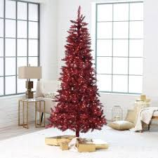tinsel tree aluminum tinsel christmas trees hayneedle