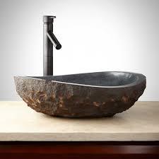 bathroom vessel sink drain vanity with glass sink vessel sink