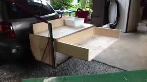 Camp Kitchen Ideas by Trailer Hitch Camp Box Youtube