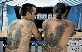 hells angles back tattoos hells hells