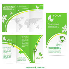 brochure templates ai free green brochure template vector free