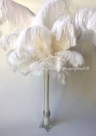 How Much Are Centerpieces For Weddings by Ostrich Feather Centerpieces Ebay