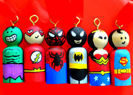 photo album superhero christmas tree ornaments all can download