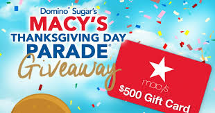 win a 500 macy s gift card free sweepstakes contests giveaways