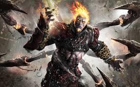 god of war 3 hades wallpaper