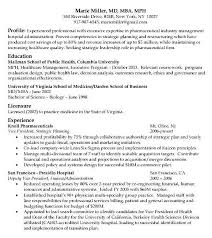 Mba Resume Templates Harvard Resume Format Harvard Business Resume Template