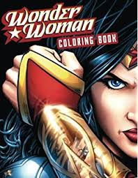 amazon dc comics woman coloring book 9781608878925