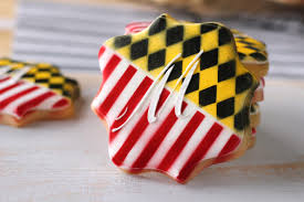 Calvert County Flag My Cookie Clinic Maryland Flag Cookies State Pride