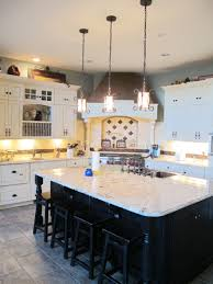 decorations impressive kitchen design with cream wall paint and