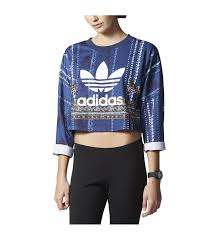 adidas crop top sweater adidas originals cirandeira crop sweater streetwear