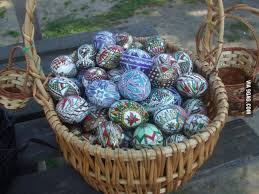 painted eggshells traditional painted eggshells made every year in the