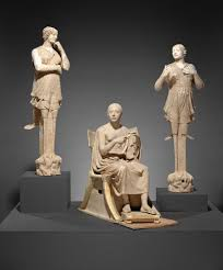 35 Best Sculptures Images On Sculptural Group Of A Seated Poet And Sirens 2 With Unjoined