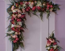 wedding arbor etsy flower arch etsy
