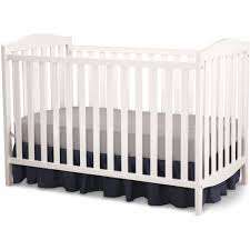 White Crib Set Bedding Delta Children 3 In 1 Convertible Crib White Walmart