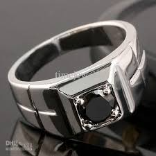 black sapphire rings images 2018 unique black sapphire men solid sterling silver ring man nal jpg