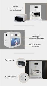 Photo Booth Printer Portable Photo Booth Printing Kiosk Photobooth Vending Machine
