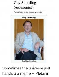 Meme Wikipedia - guy standing economist from wikipedia the free encyclopedia guy