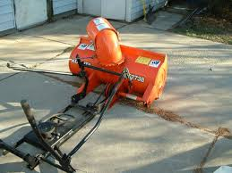 kubota snow blower attachment model t2738 fits several models of