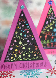 scratch art christmas cards scratch art christmas tree and craft