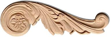 Decorative Wooden Scrolls Carved Wood Scrolls And Phoenix Onlays