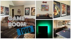 2017 game room tour 80s movie theme youtube