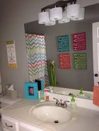 bathroom ideas for boy and boy shared bathroom neutral with pops of color designed