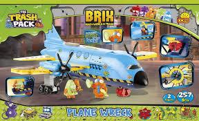 produkt archiwalny plane wreck trash pack brix kids