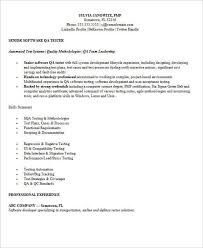 Manual Tester Resume Sample Qa Resumes Unforgettable Quality Assurance Resume Examples
