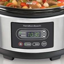 hamilton beach stay or go 5 quart slow cooker 33957