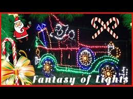 fantasy of lights christmas lights decorations winter wonderland