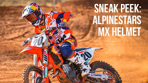 motocross helmet sneak peek alpinestars motocross helmet motocross feature stories