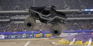 monster truck jam ford field monster jam at ford field army vet tony ochs now behind wheel