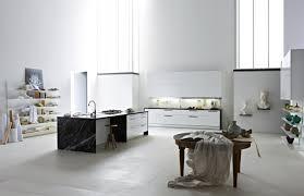 cuisine carrelage blanc sols et tapis 17 intérieurs inspirants carrelage cuisine en noir et