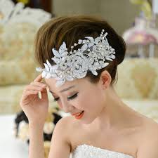 hair decorations free shipping fashion bridal vintage lace flower hair jewelry