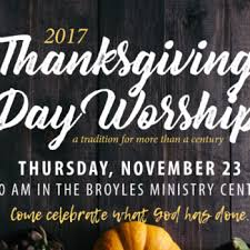thanksgiving day worship service at avenue presbyterian