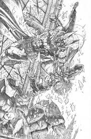 batman vs joker final pencils by rudyvasquez on deviantart