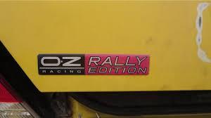 mitsubishi evo emblem junkyard treasure 2003 mitsubishi lancer oz rally edition autoweek