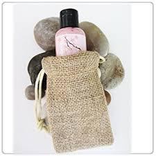 burlap gift bags new burlap favor bags with drawstring 3x5 pack of
