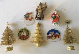 collectible christmas tree decorations uk joblot of vintage