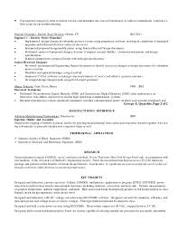 cv format for electrical and electronics engineers benefits of yoga quarshiegeorge power engineering resume 2abcw