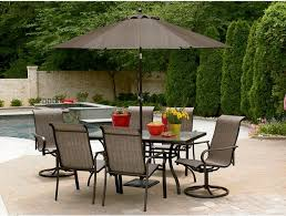Milano Patio Furniture by Atlantic Milano 10 Piece Patio Furniture Set Circular Patio