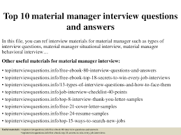 materials manager resume top10materialmanagerinterviewquestionsandanswers 150320182256 conversion gate01 thumbnail 4 jpg cb u003d1426893822
