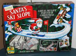sold out mr christmas santa u0027s ski slope mechanical collectibles