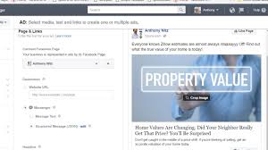 using messenger in facebook ads for real estate youtube
