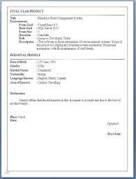Download Fresher Resume Format Sample Resume Format Download Preschool Teacher Resume Template