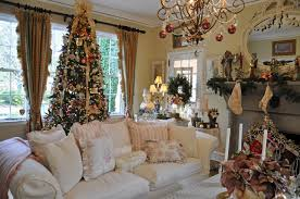Nice Homes Interior Pictures Of Christmas Decorated Homes Bjhryz Com