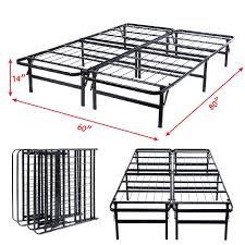 queen size foldable platform metal bed frame beds u0026 bed frames