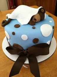 cake i made for monkey themed baby shower cake u0026 cupcakes