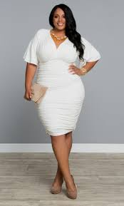 white cocktail dresses plus size naf dresses