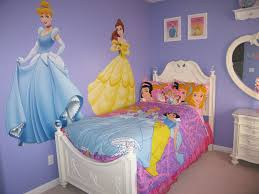 Disney Princess Wall Mural Ideas For Your Girl Style Fashionista - Disney wall decals for kids rooms
